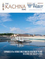 Is Wastewater REUSE in Your Plant's Future? - AZ Water Association