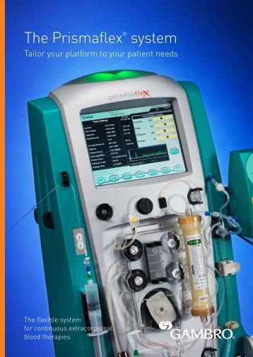 The Prismaflex® system - Gambro