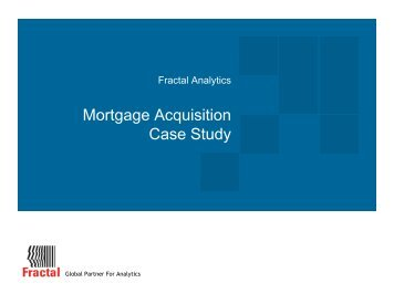Mortgage Acquisition Case Study - Fractal Analytics