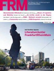 FRM Magazin Herbst 2009 - FrankfurtRheinMain GmbH