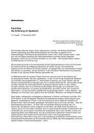 Download Pressetext PDF - Fondation Beyeler
