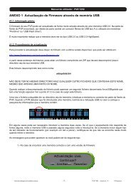 ANEXO 1 Actualização de Firmware através de ... - FTE Maximal