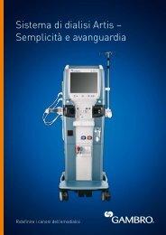 Sistema di dialisi Artis – Semplicità e avanguardia - Gambro