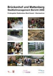 Bericht Stadtteilmanagement 2008 - Frauentreff Brückenhof