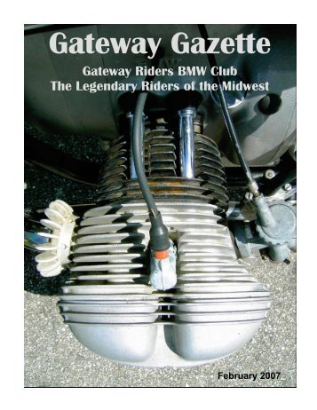 February 2007 - Gateway Riders Index