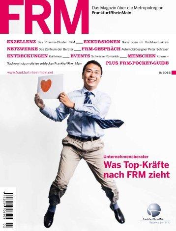 FRM Magazin Herbst 2012 (7 MB) - FrankfurtRheinMain GmbH