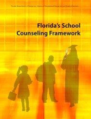 Florida's School Counseling Framework - Florida Department of ...