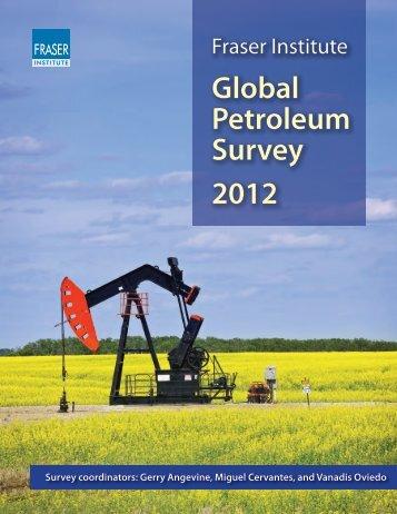 Fraser Institute Global Petroleum Survey 2012