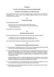 Mehrleistungs-Richtlinien - FUK-Mitte