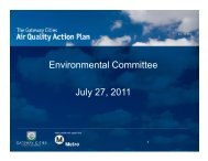 Environmental Committee July 27, 2011 - Gateway Cities Council of ...