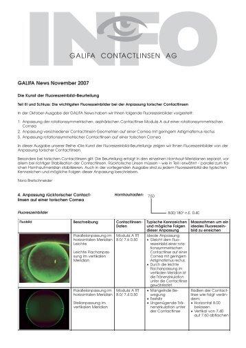 11_November 2007.pdf - Galifa Contactlinsen AG