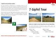 7 Gipfel Tour - Heidiland