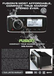 MS-RA50 Brochure - Fusion
