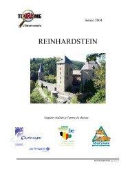 REINHARDSTEIN - Fédération du Tourisme de la Province de Liège