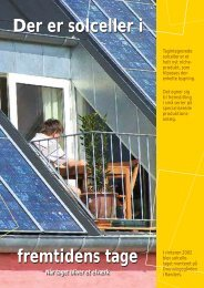 Der er solceller i fremtidens tage fremtidens tage Der er solceller i
