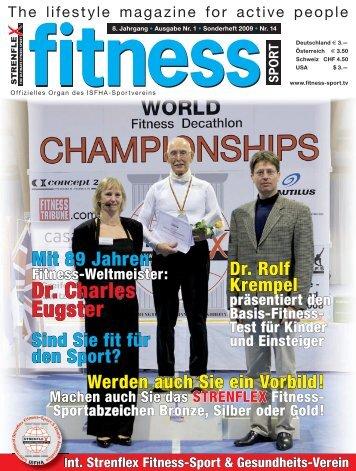 Dr. Charles Eugster - Strenflex Fitness Sport