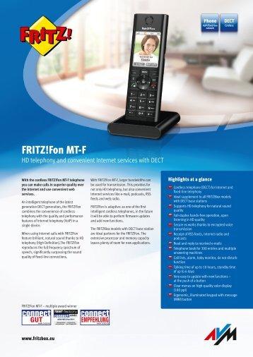 Fon MT-F - AVM
