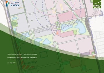 Cranbourne West Precinct Structure Plan - Growth Areas Authority