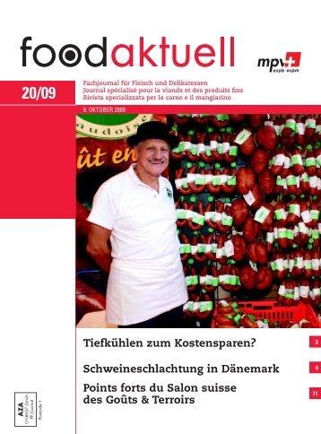foodaktuell 20 2009 druck - Foodaktuell.ch