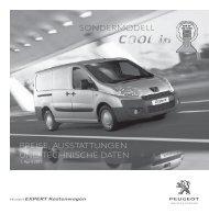PEUGEOT Expert Kastenwagen Cool in