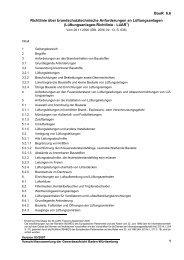 BauR 6.6 1 Richtlinie über brandschutztechnische Anforderungen ...