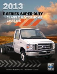 Motorhome Class C Catalog - Ford