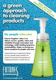Ecover brochure - Futures Supplies & Support Services
