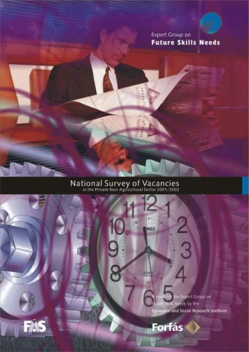 National Survey of Vacancies in the Private (Non ... - Forfás