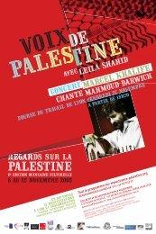 Affiche et Flyers - Association France Palestine Solidarité