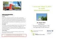 Flyer - Fakultät Rehabilitationswissenschaften - TU Dortmund