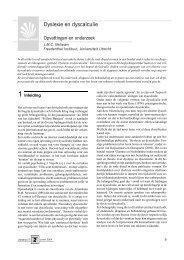 Dyslexie en dyscalculie - Freudenthal Instituut - Universiteit Utrecht