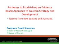 Pathways to Establishing an Evidence Based ... - Fjord Norway