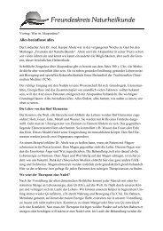 Pressemitteilung Vortrag Akupunktur - Freundeskreis ...