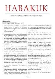 Habakuk Ausgabe 2/2012