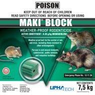 Label - Adams Pest Control
