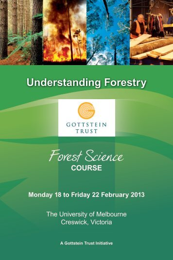 Forest Science - Forest and Wood Products Australia