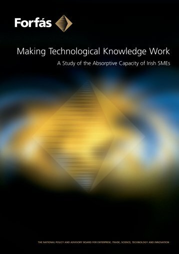 Making Technological Knowledge Work - A Study of the ... - Forfás