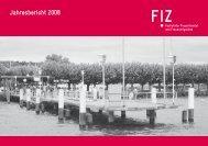 Jahresbericht 2008 - FiZ