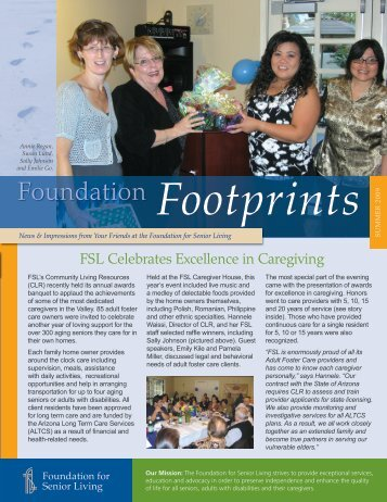Foundation Footprints - The Foundation for Senior Living
