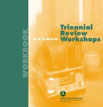 FTA Seminar Cover; 2004 - Federal Transit Administration - U.S. ...