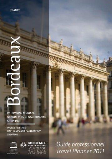 Guide professionnel Travel Planner 2011 - Maison de la France
