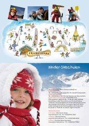 Kinder-Skischulen