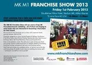 MK M1 FRANCHISE SHOW 2013
