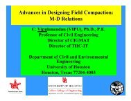 Advances in Designing Field Compaction - Foundation Performance ...