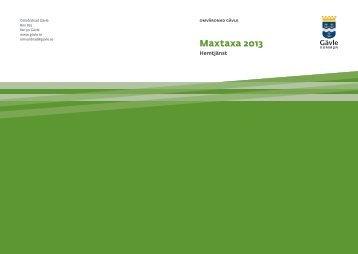 Maxtaxa för hemtjänst - Gävle kommun