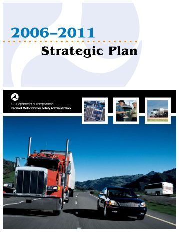 Strategic Plan - Federal Motor Carrier Safety Administration ...