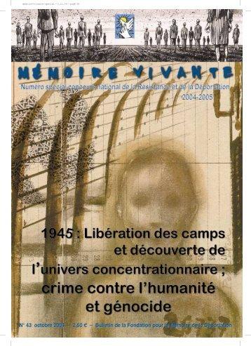 Télécharger (1.7 Mo) - Fondation de la Résistance
