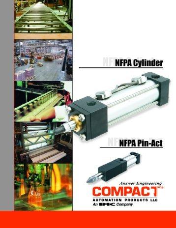 NFPA ShotPin/ Cylinders - Fluidraulics Inc