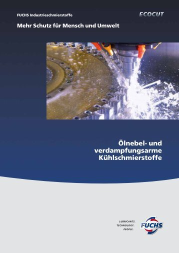 Ölnebel - fuchs europe schmierstoffe gmbh
