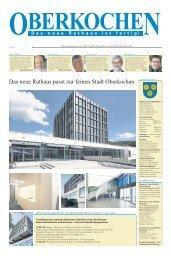 Oberkochen - Das neue Rathaus ist fertig - Schwäbische Post